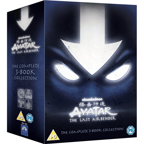 Avatar The Last Airbender Complete Book 1+2+3 Collection Region 4