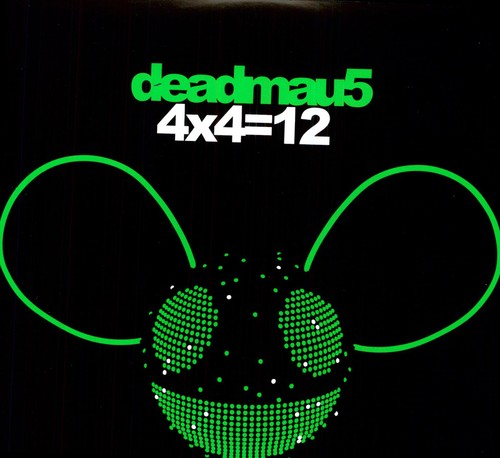 Deadmau5 4x4=12 New Vinyl LP
