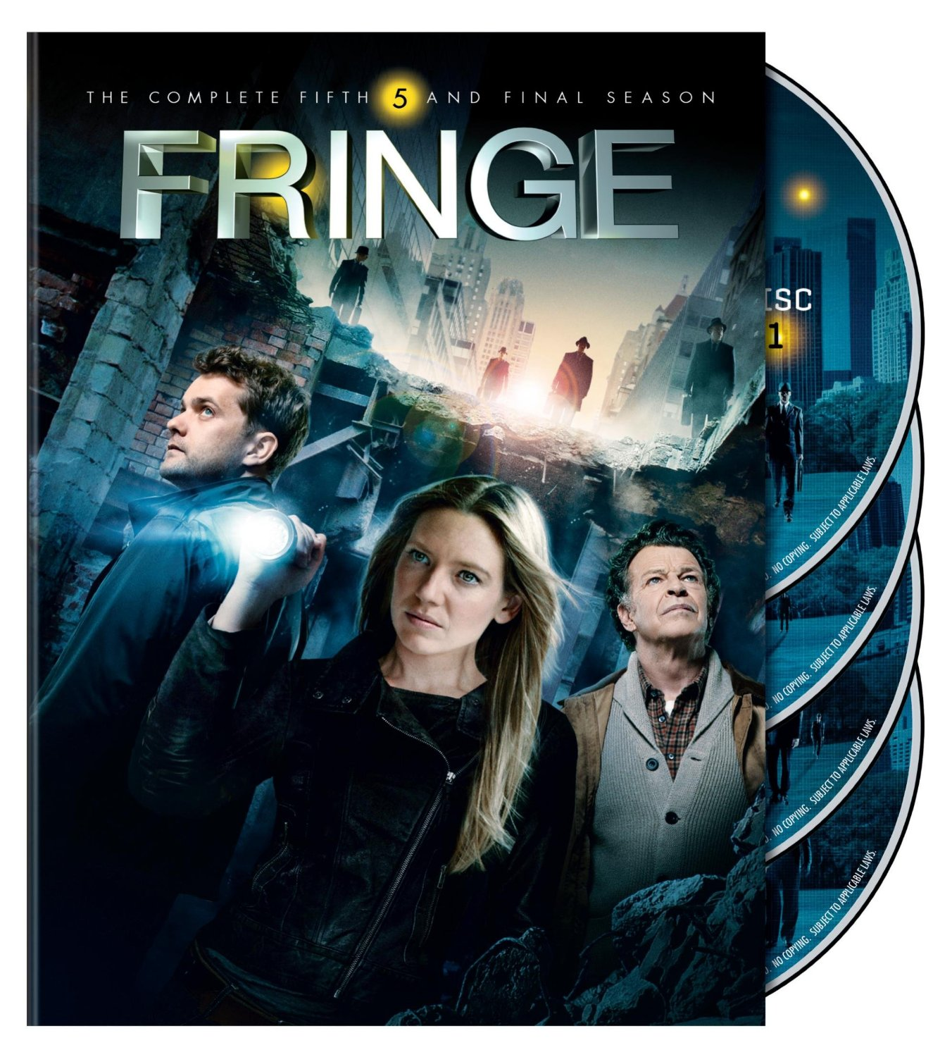 Fringe Season 5 TV Series Region 4 New DVD (4 Discs)