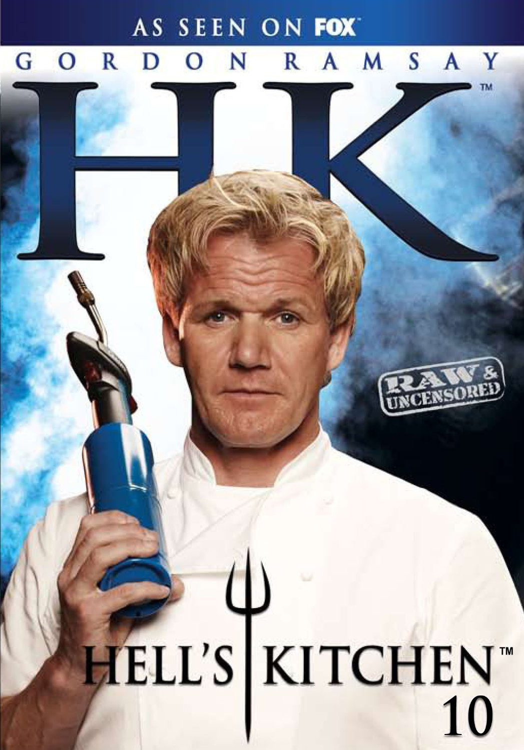 Hell39;s Kitchen Season 10 Series Ten Gordon Ramsay Region 1 New DVD