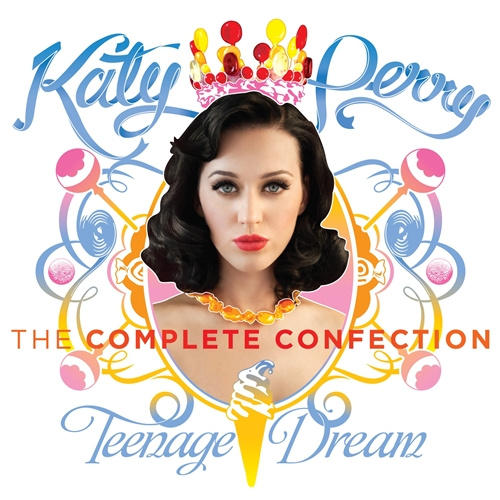 Katy Perry Teenage Dream The Complete Confection (Music CD)