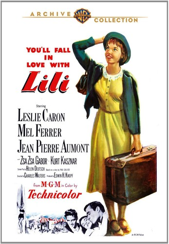 Lili-Leslie-Caron-Region-4-New-DVD