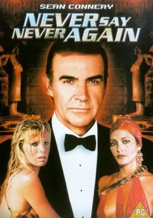 Never Say Never Again (Sean Connery) New DVD Region 4