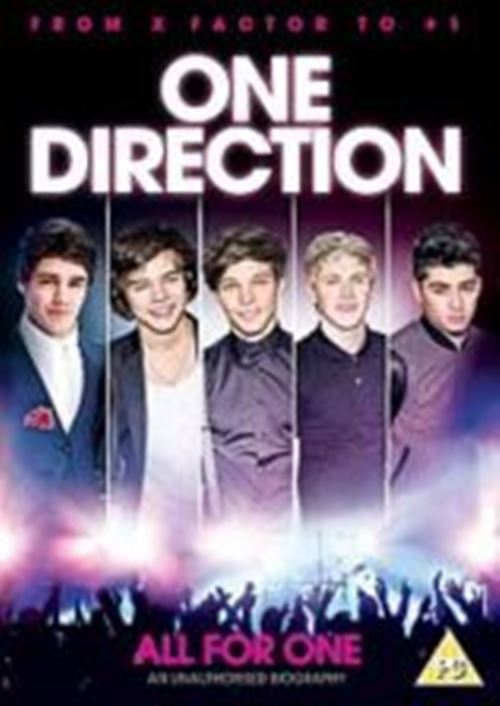 One Direction All For One Region 2 New DVD