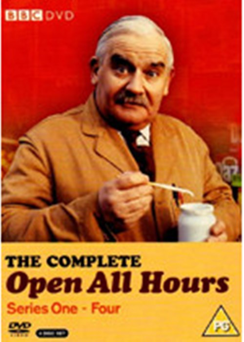 Open-All-Hours-Complete-Series-1-2-3-4-Ronnie-Barker-New-Season-DVD-Region-4
