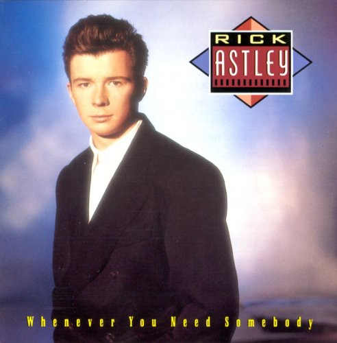 Rick Astley Whenever You Need Somebody (Music CD) New
