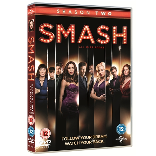 Smash Season 2 TV Series Region 4 New DVD (4 Discs)