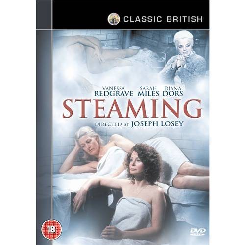 Steaming-Vanessa-Redgrave-Diana-Dors-Sarah-Miles-New-DVD-R4