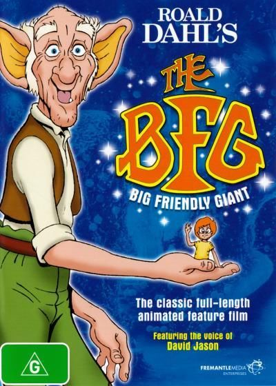 The BFG Big Friendly Giant (Roald Dahl) New DVD Region 4