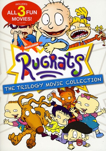 The-Rugrats-Trilogy-Movie-Rugrats-in-Paris-Rugrats-Go-Wild-Region-1-3xDVD