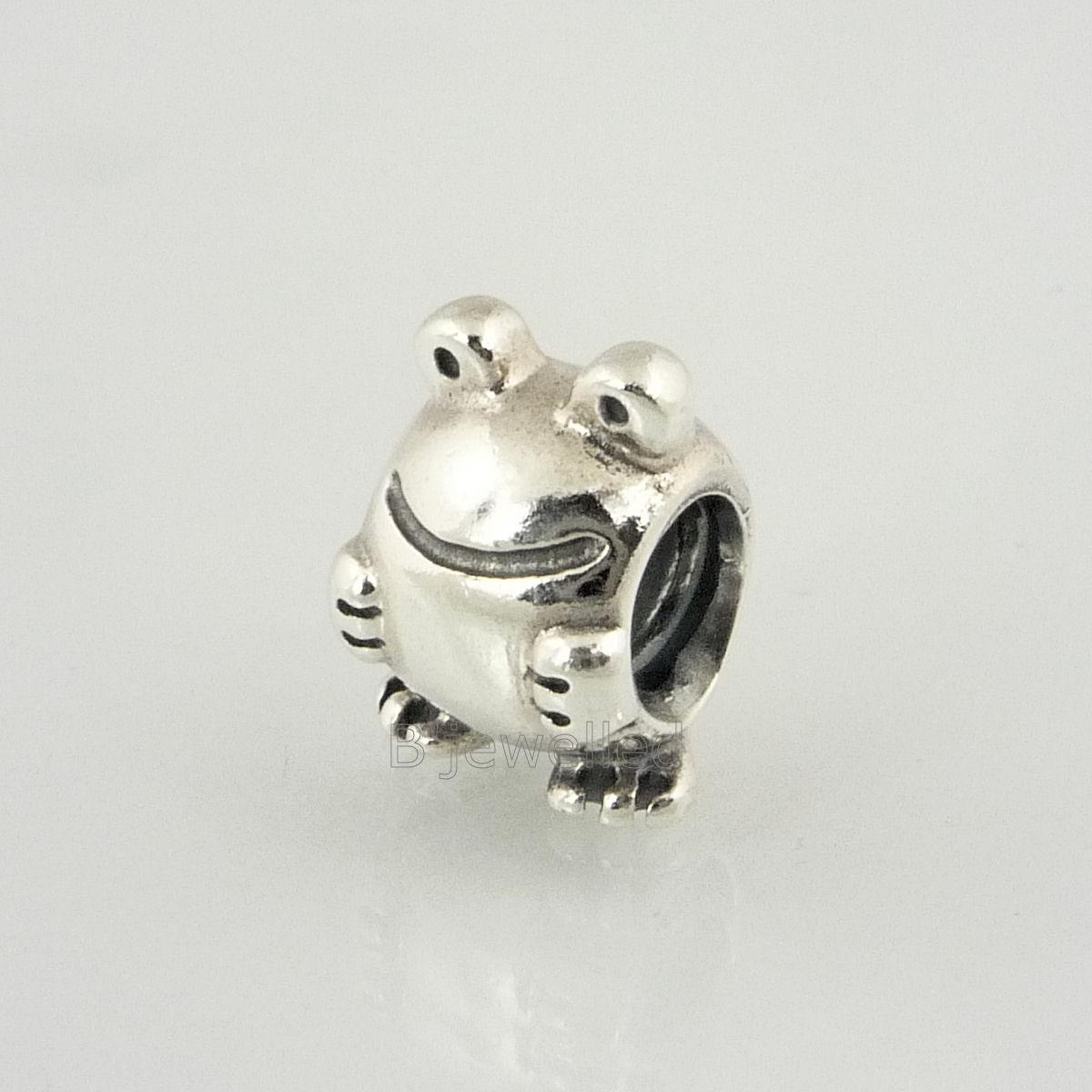 authentic genuine pandora sterling silver frog charm ebay
