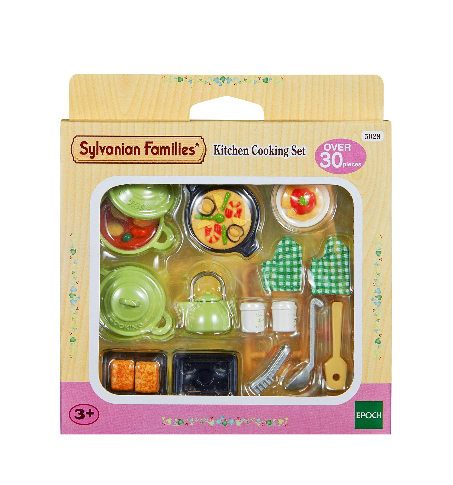 Sylvanian families kitchen cooking set ebay for Kitchen kitchen set