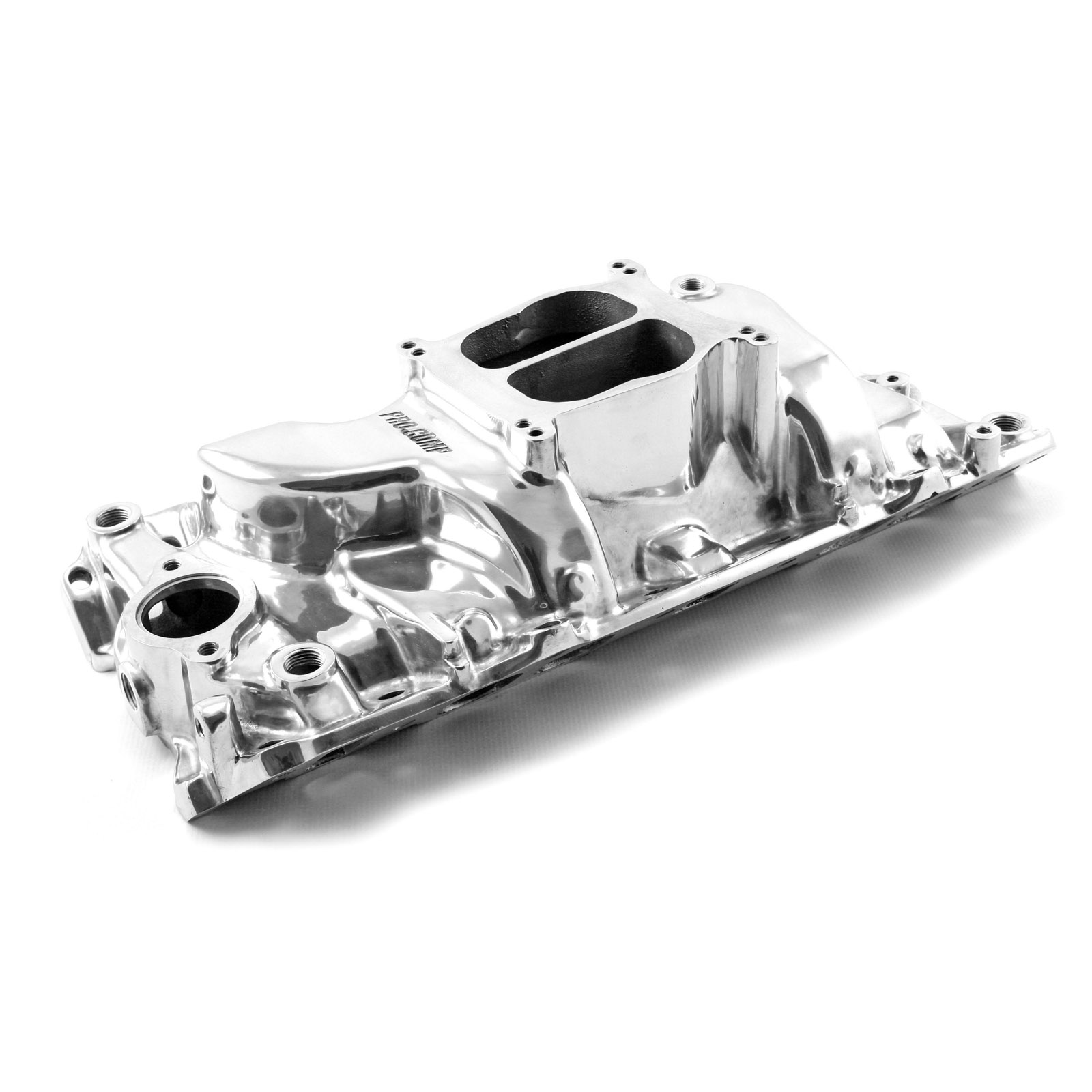 Chevy BBC 454 Holeshot Oval Port Polished Intake Manifold