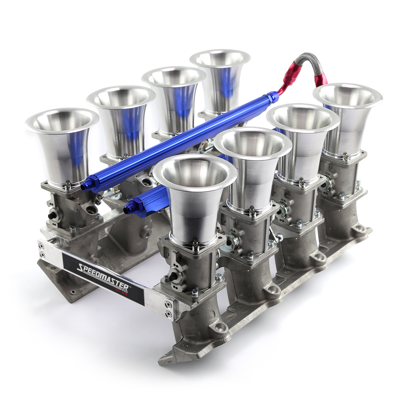 Chevy LS7 Down Draft EFI Stack Intake Manifold System