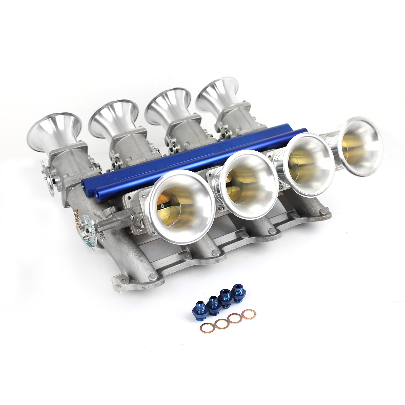 Chevy LS3 Side Draft EFI Stack Intake Manifold System