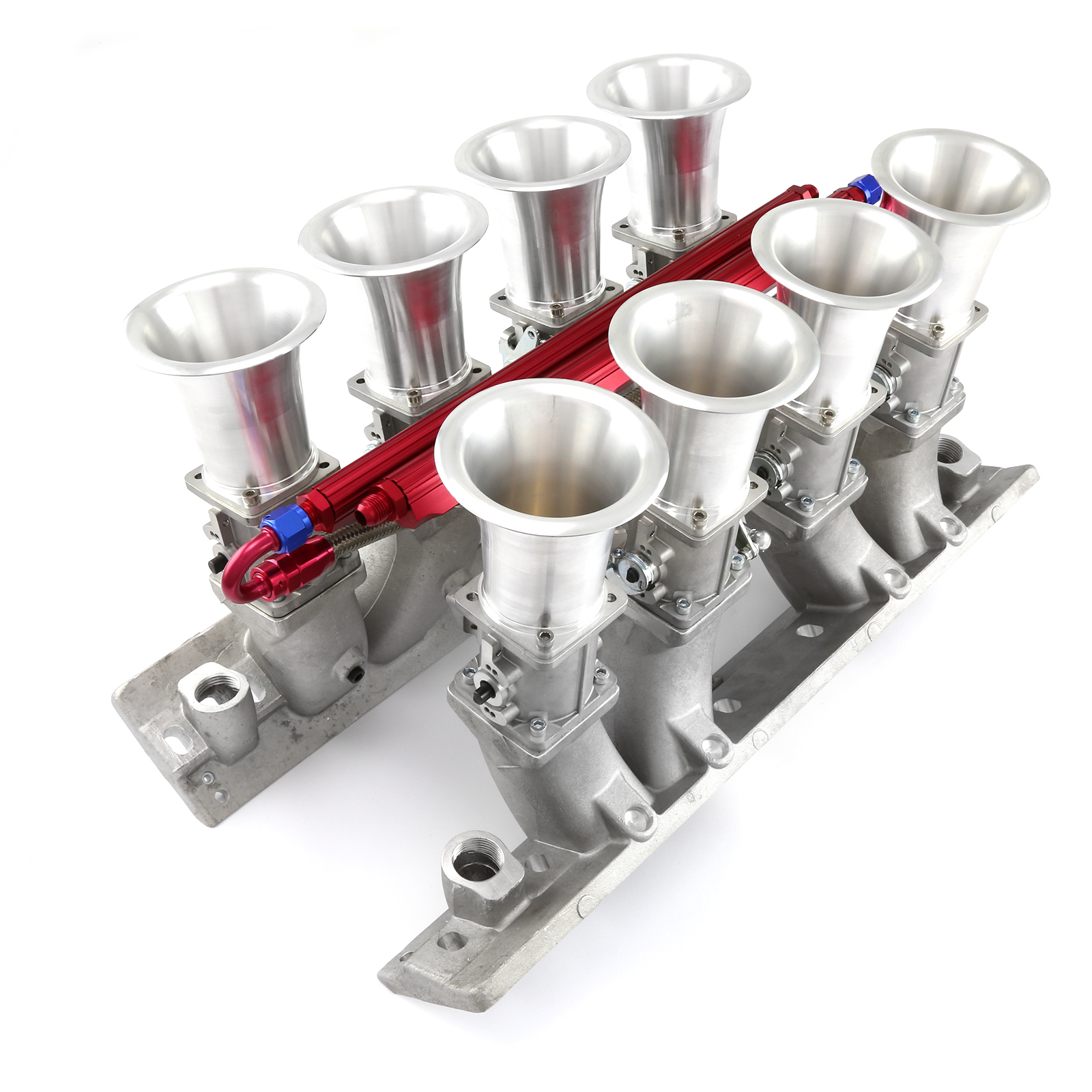 Chevy BBC 454 Down Draft EFI Stack Intake Manifold System