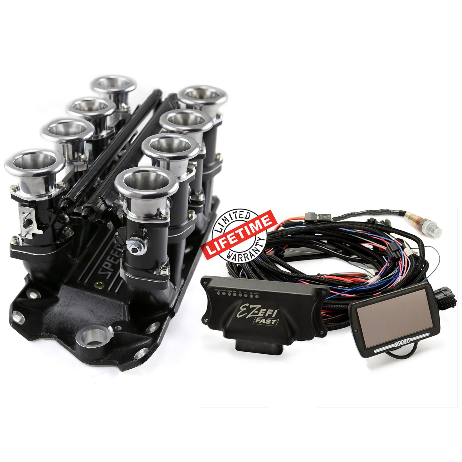 Speedmaster PCE148.1074 Satin ITB Intake Manifolds, Fuel