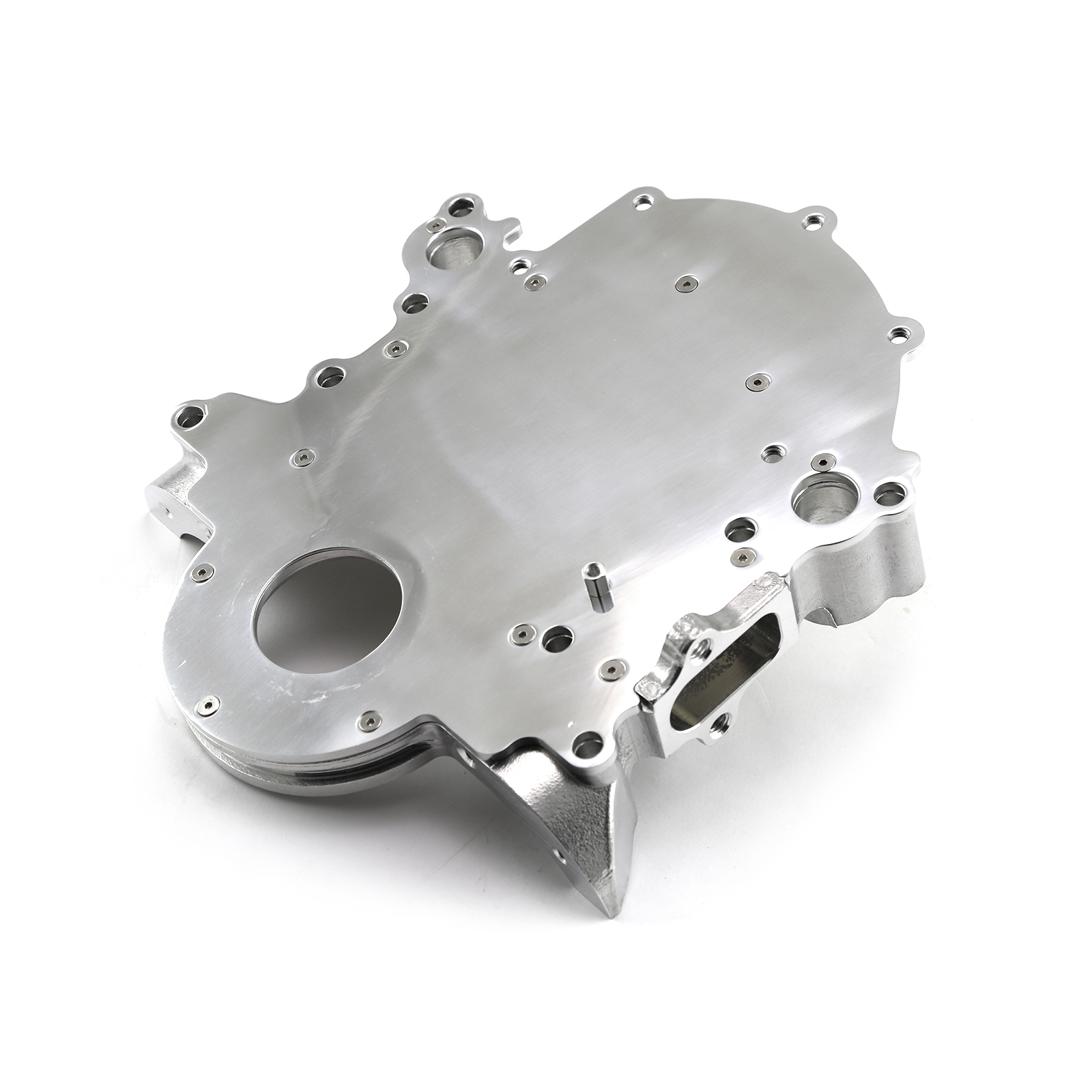 Ford Timing Chain Cover : Ford sb windsor l pc billet