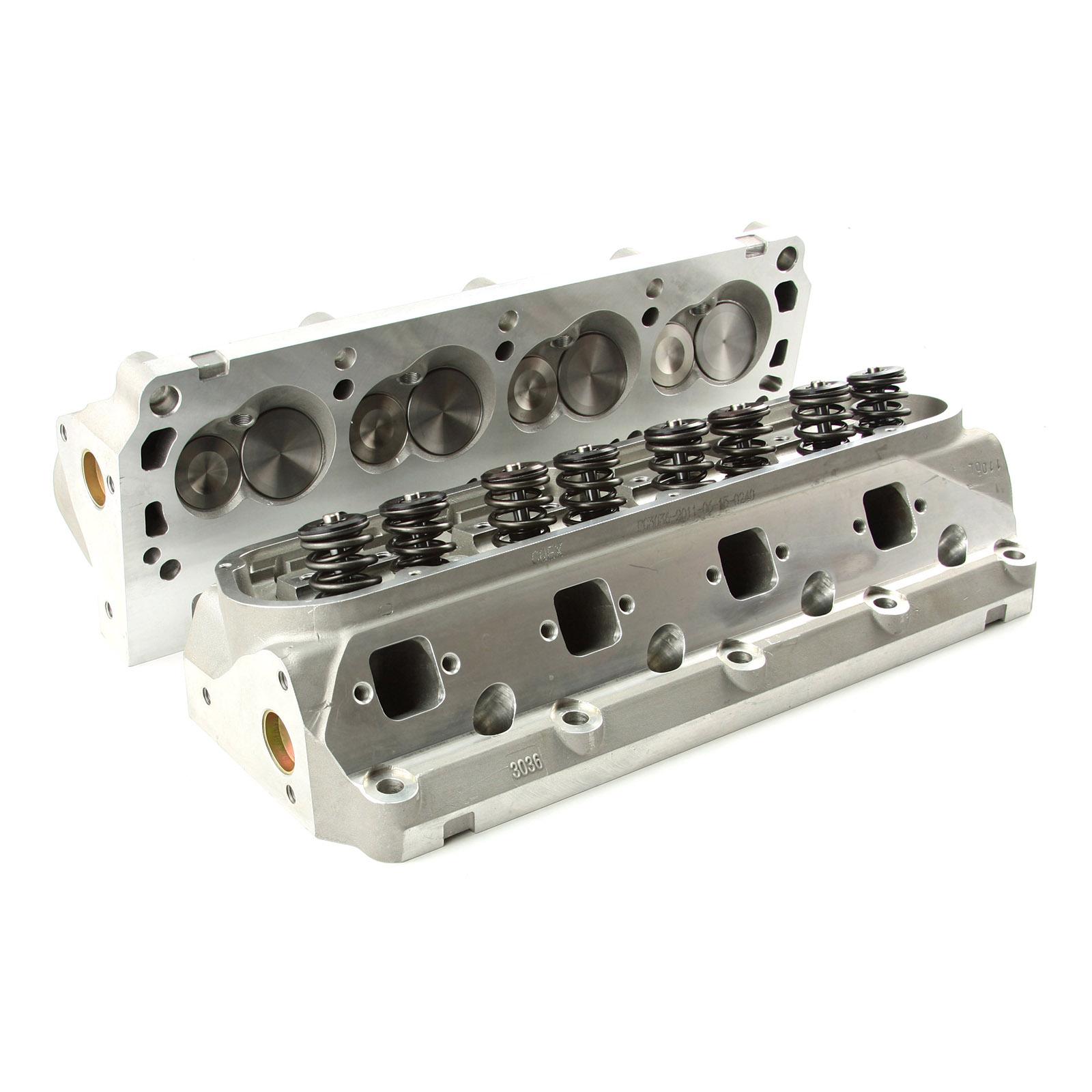 Ford 2 3 D Port Head: Ford SB 289 302 351W 175cc 62cc Solid-FT Complete Aluminum