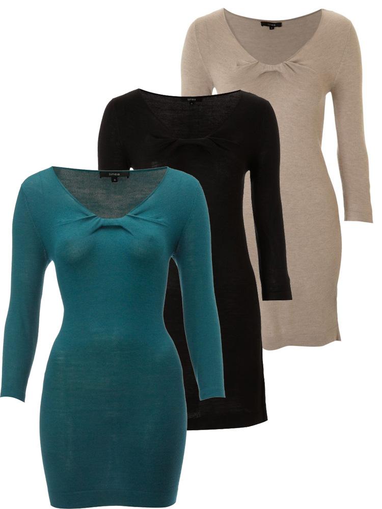 Linea-Knot-Detail-Dress-3-colours