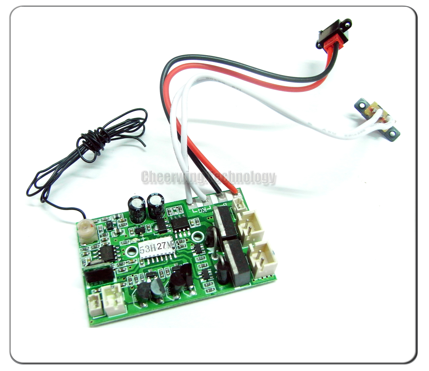 27mhz pcb board 9101 23 for double horse 9101 helicopte on popscreen