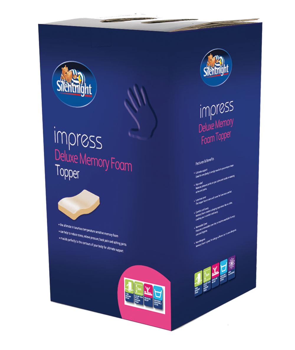 Silentnight-Impress-5cm-Depth-Memory-Foam-Mattress-Topper-Double-King-Size