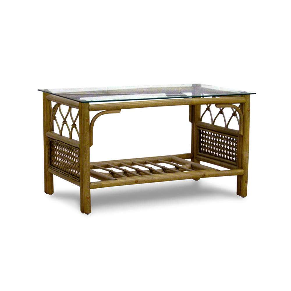 Conservatory Furniture Coffee Table Cane Sienna No