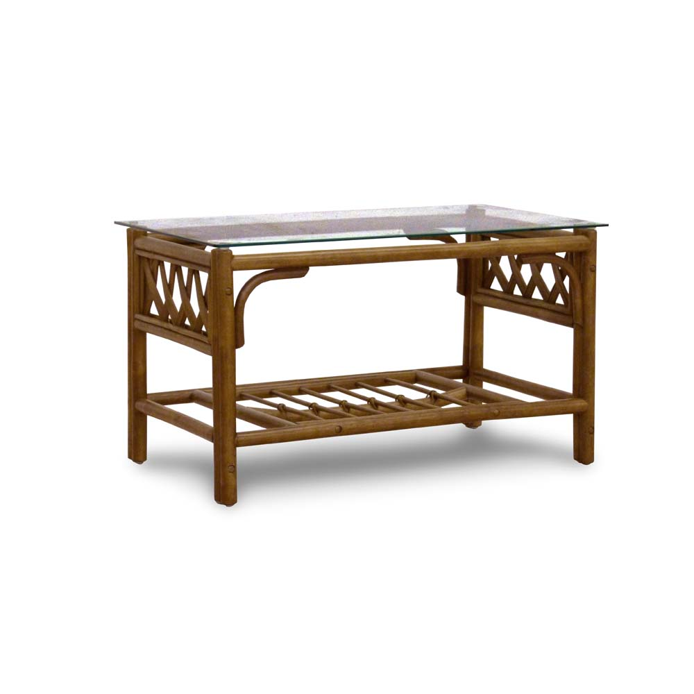Conservatory Furniture Coffee Table Cane Wicker No Glass Top Brown Ebay