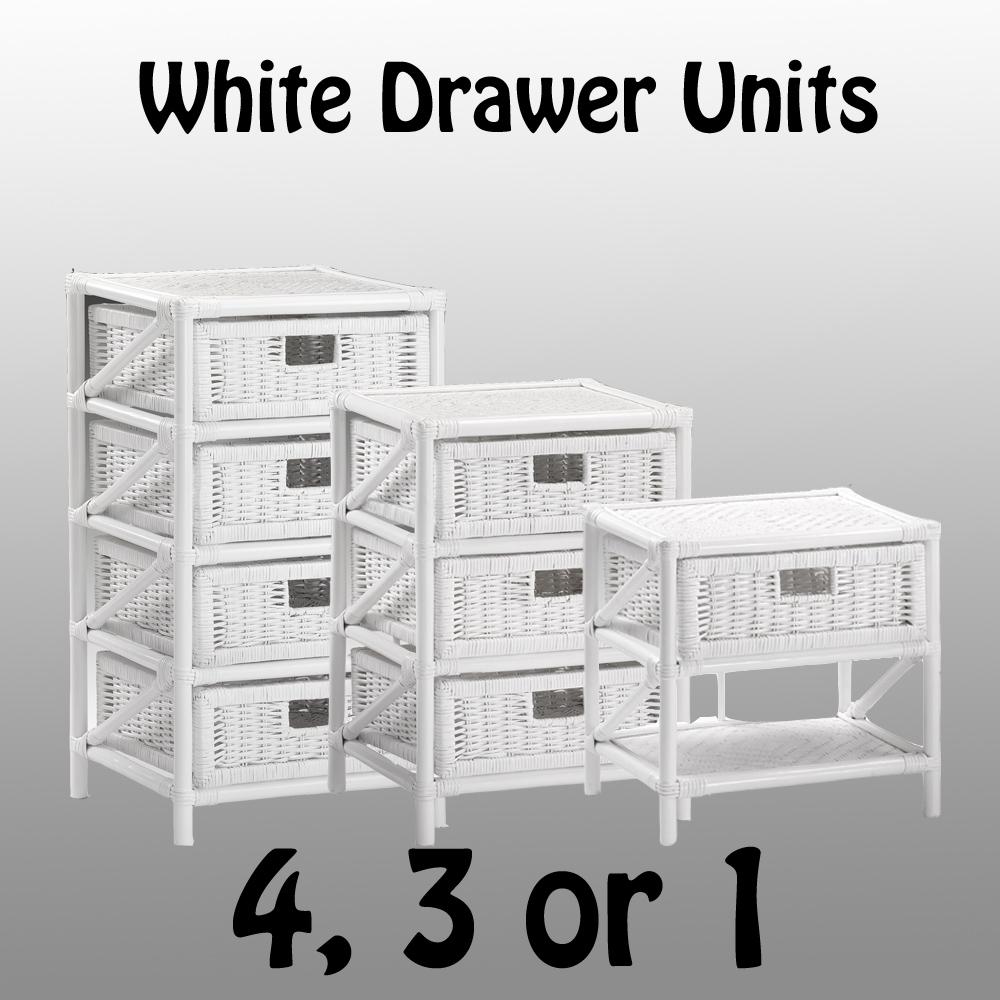 Wicker-Storage-Unit-White-Rattan-Basket-Drawers-Conservatory-Furniture