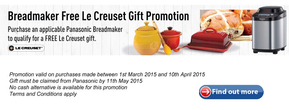 Panasonic Le Creuset Offer
