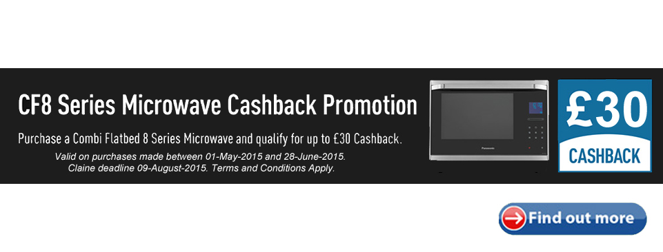 Panasonic C8 Microwaves Cashback Offer