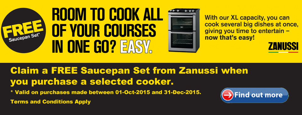 Zanussi Saucepan Offer