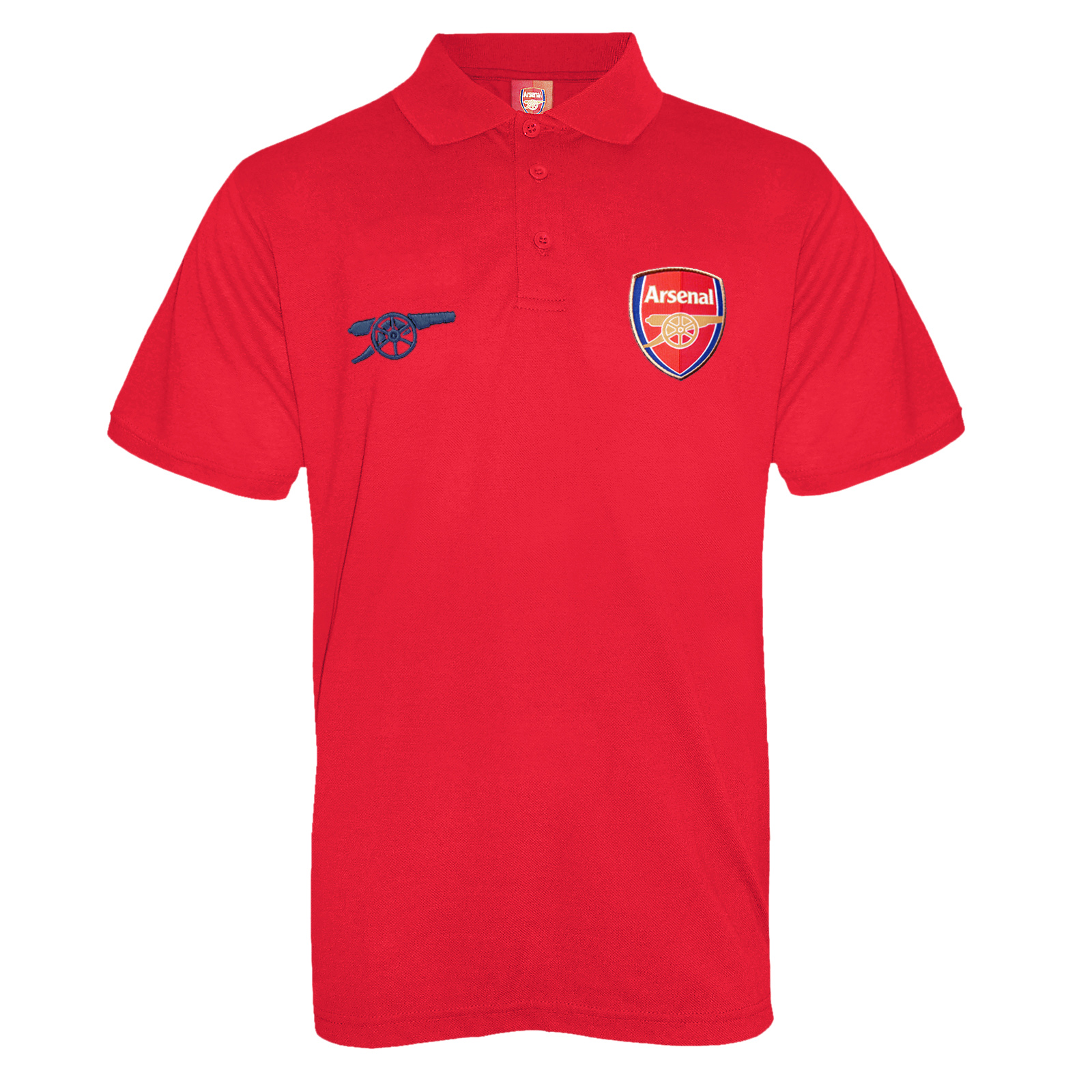 Arsenal Football Club Official Soccer Gift Mens Crest Polo