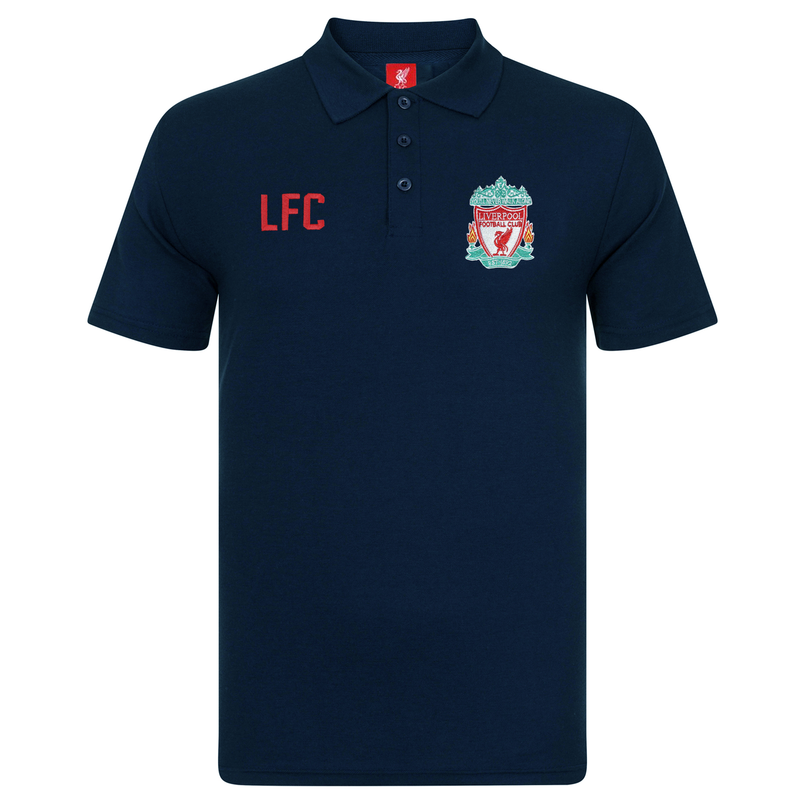 fc liverpool original fu ball geschenk herren wappen polo shirt ebay. Black Bedroom Furniture Sets. Home Design Ideas
