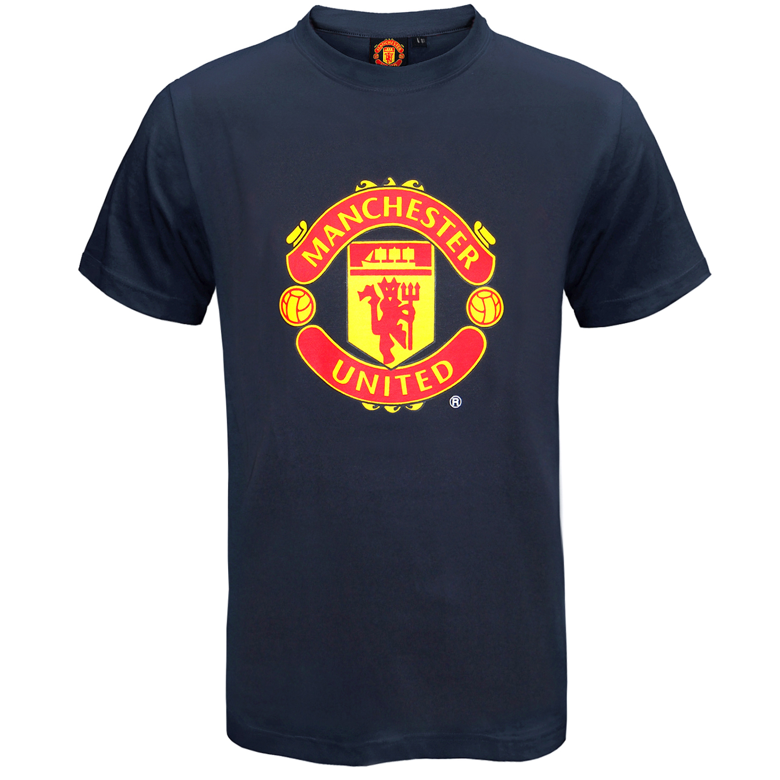 Manchester-United-FC-Official-Football-Gift-Mens-Crest-T-Shirt