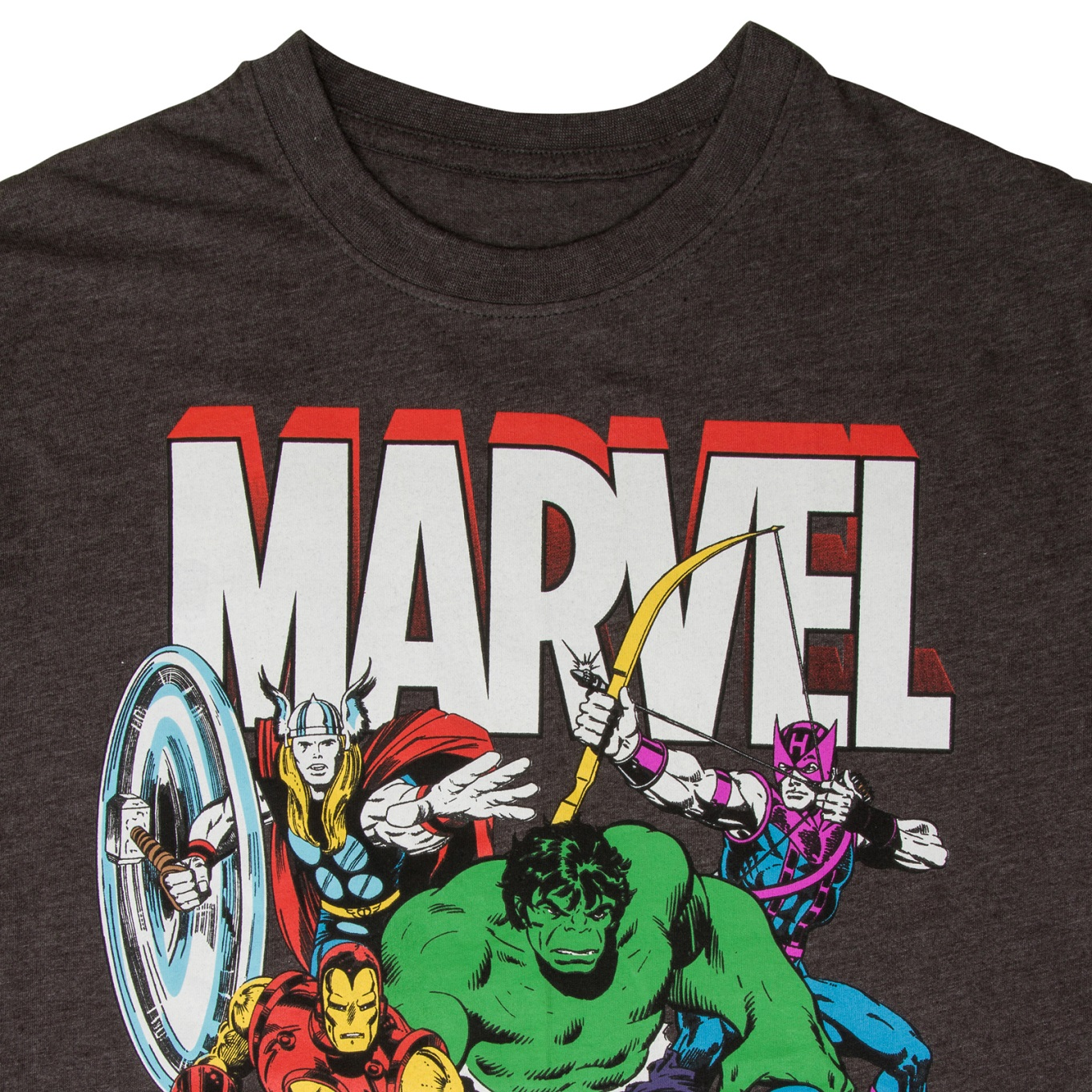 marvel comics official gift mens character t shirt iron man thor ebay. Black Bedroom Furniture Sets. Home Design Ideas