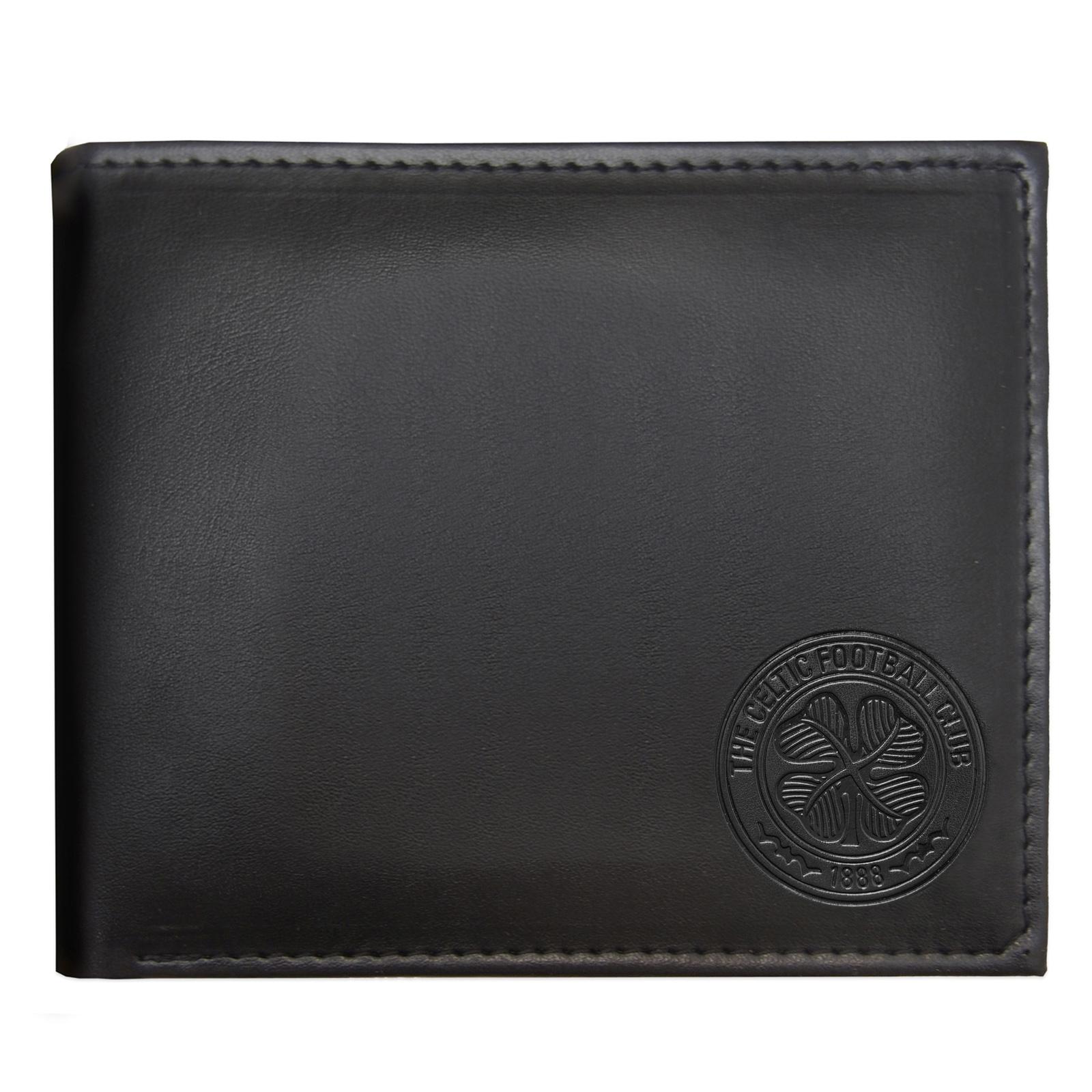 Celtic FC Geldbörse mit geprägtem Vereinswappen Offizielles Merchandise