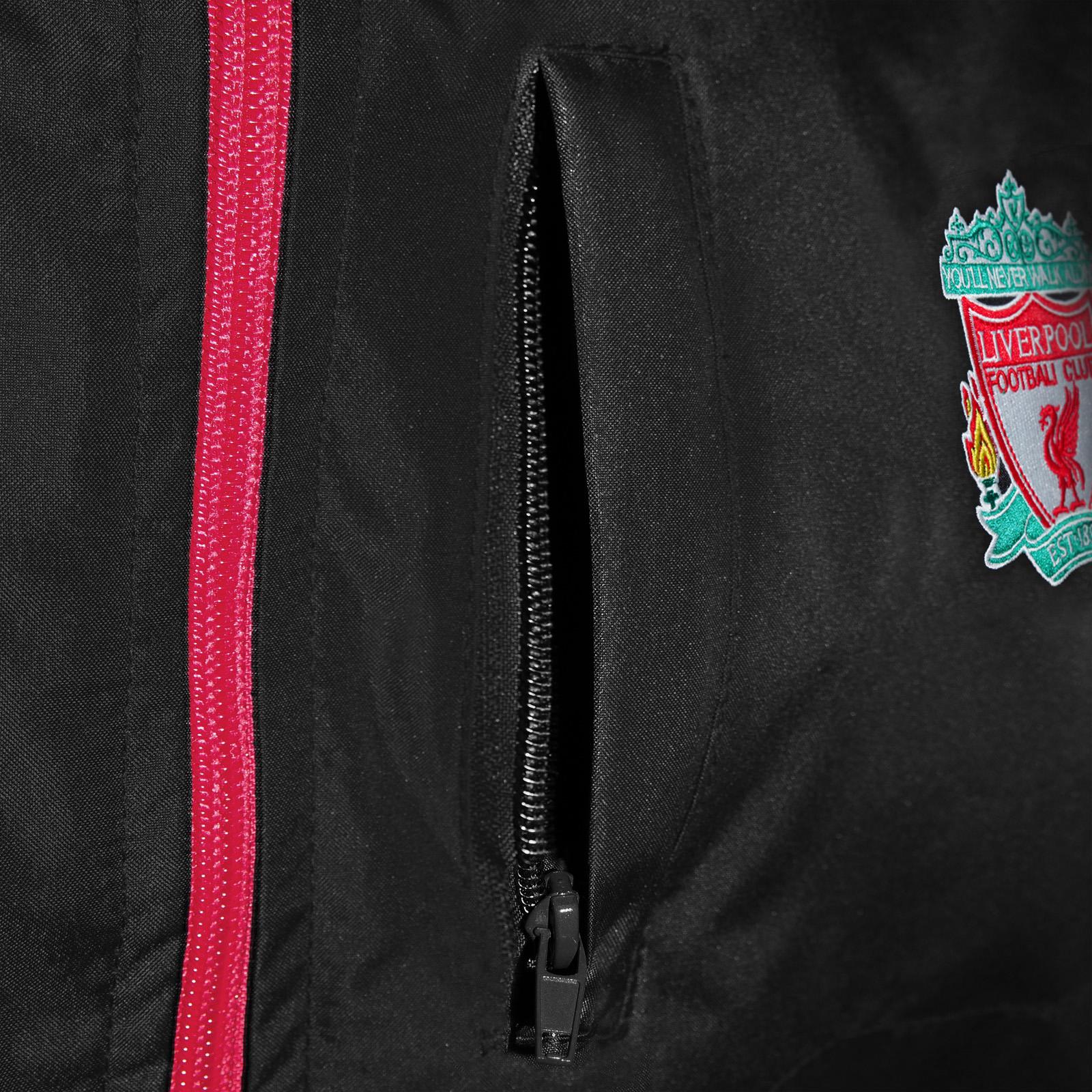Liverpool Football Club Official Soccer Gift Mens Shower Jacket Windbreaker
