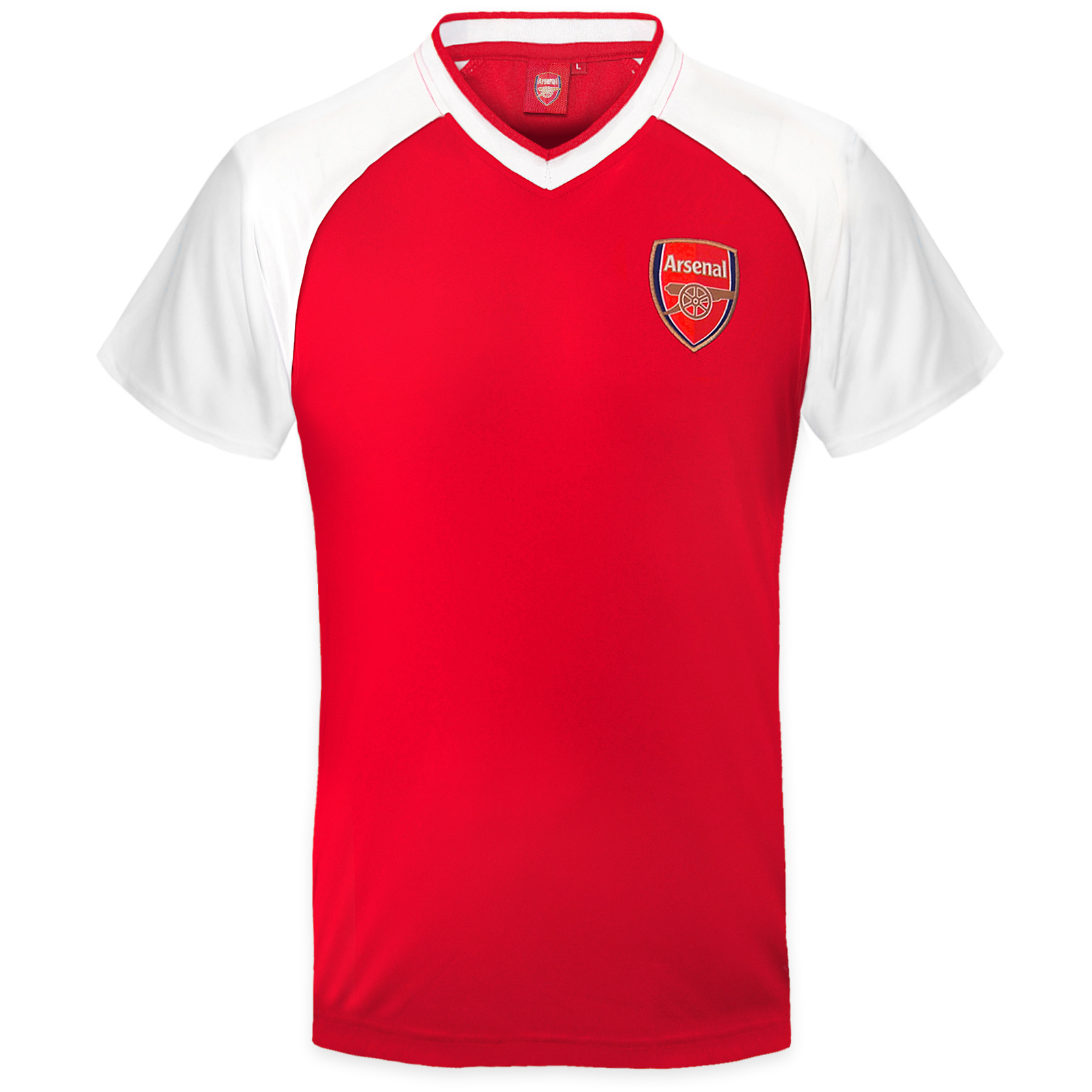 Arsenal fc official football gift mens poly training kit t for Arsenal t shirts sale