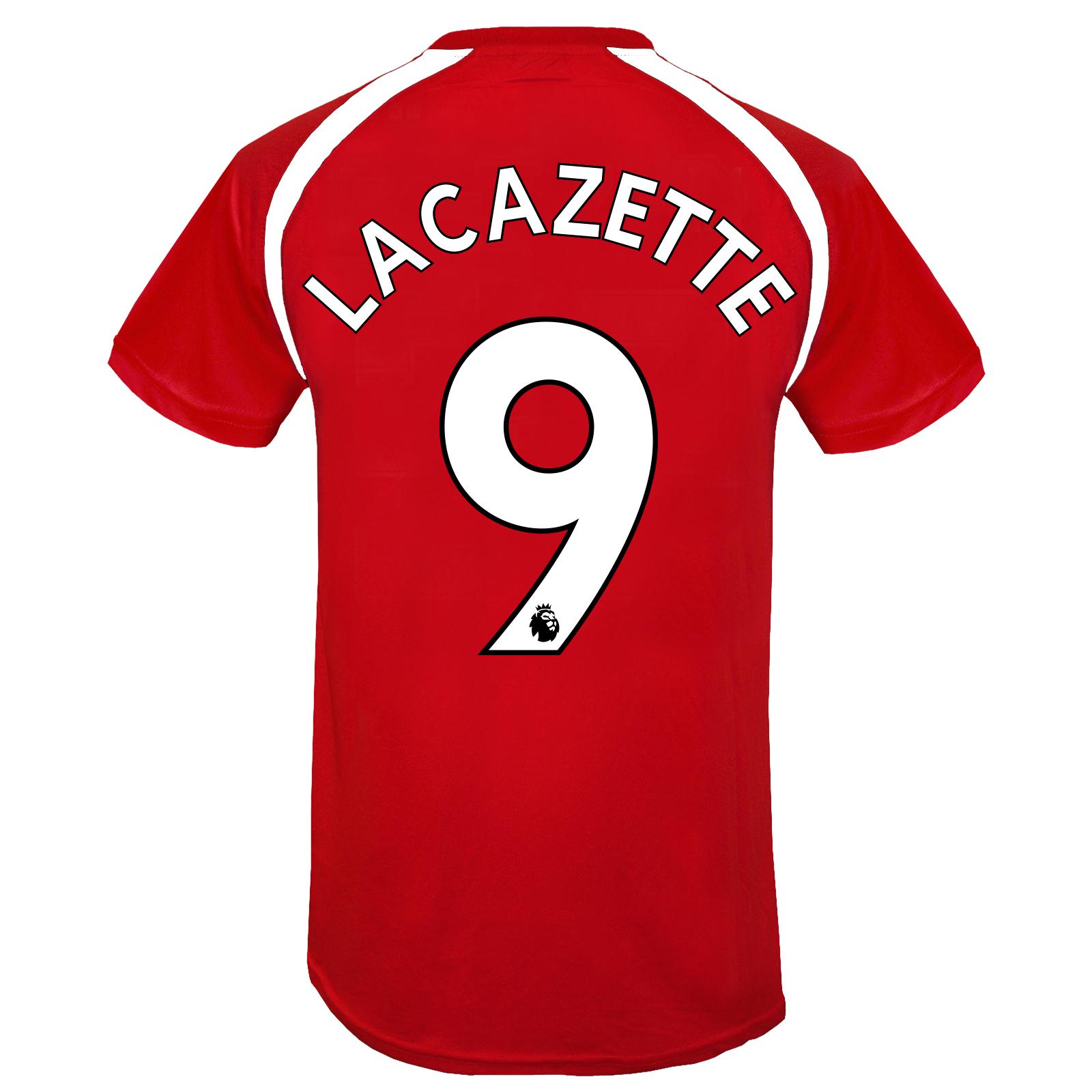 Arsenal FC Official Football Gift Boys Poly Training Kit T-Shirt