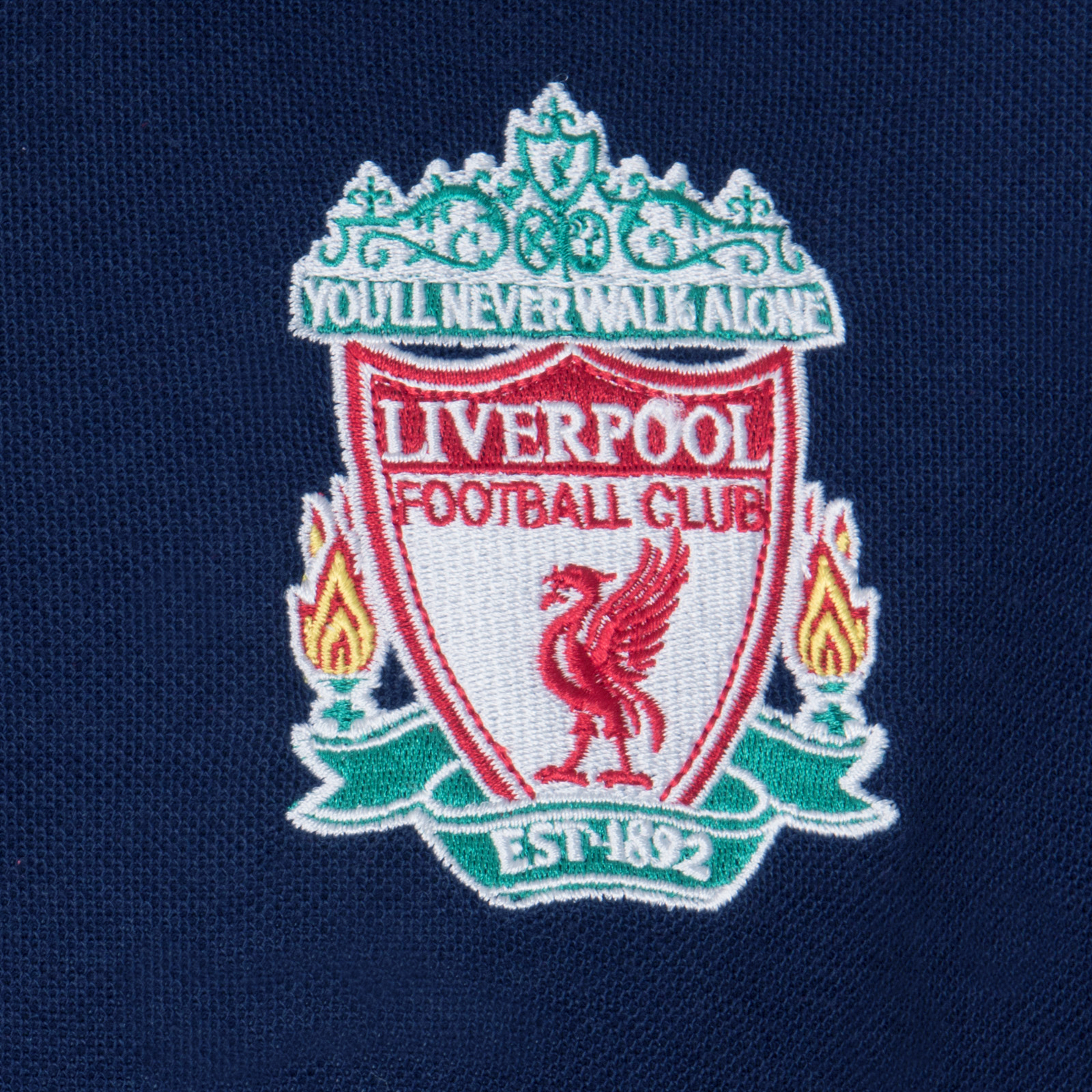 Liverpool Football Club Official Soccer Gift Boys Crest Polo Shirt