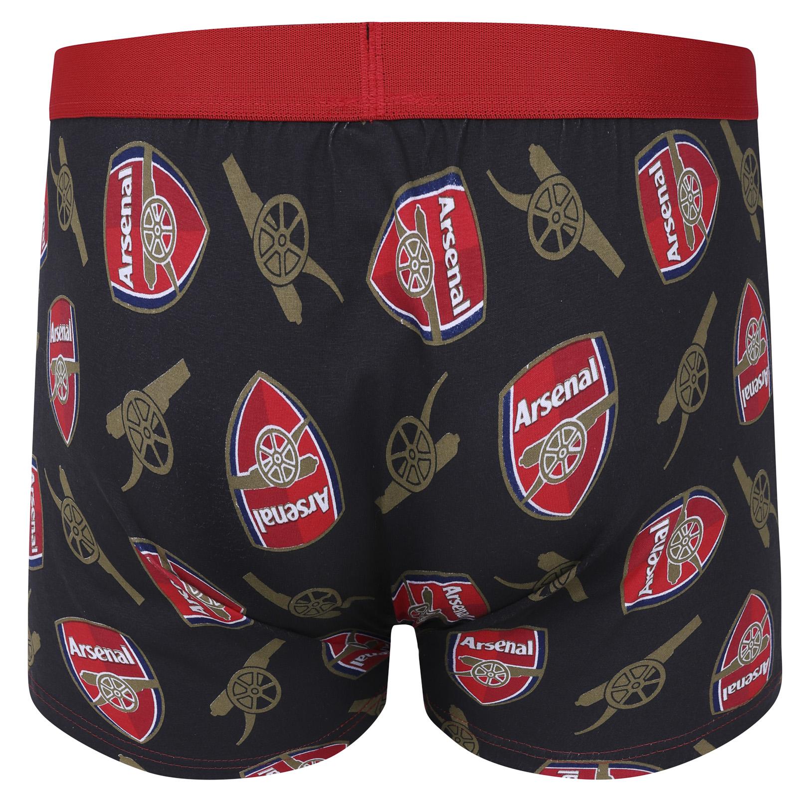 Arsenal FC Ufficiale Calcio Regalo Pacco 1 paia boxer da uomo