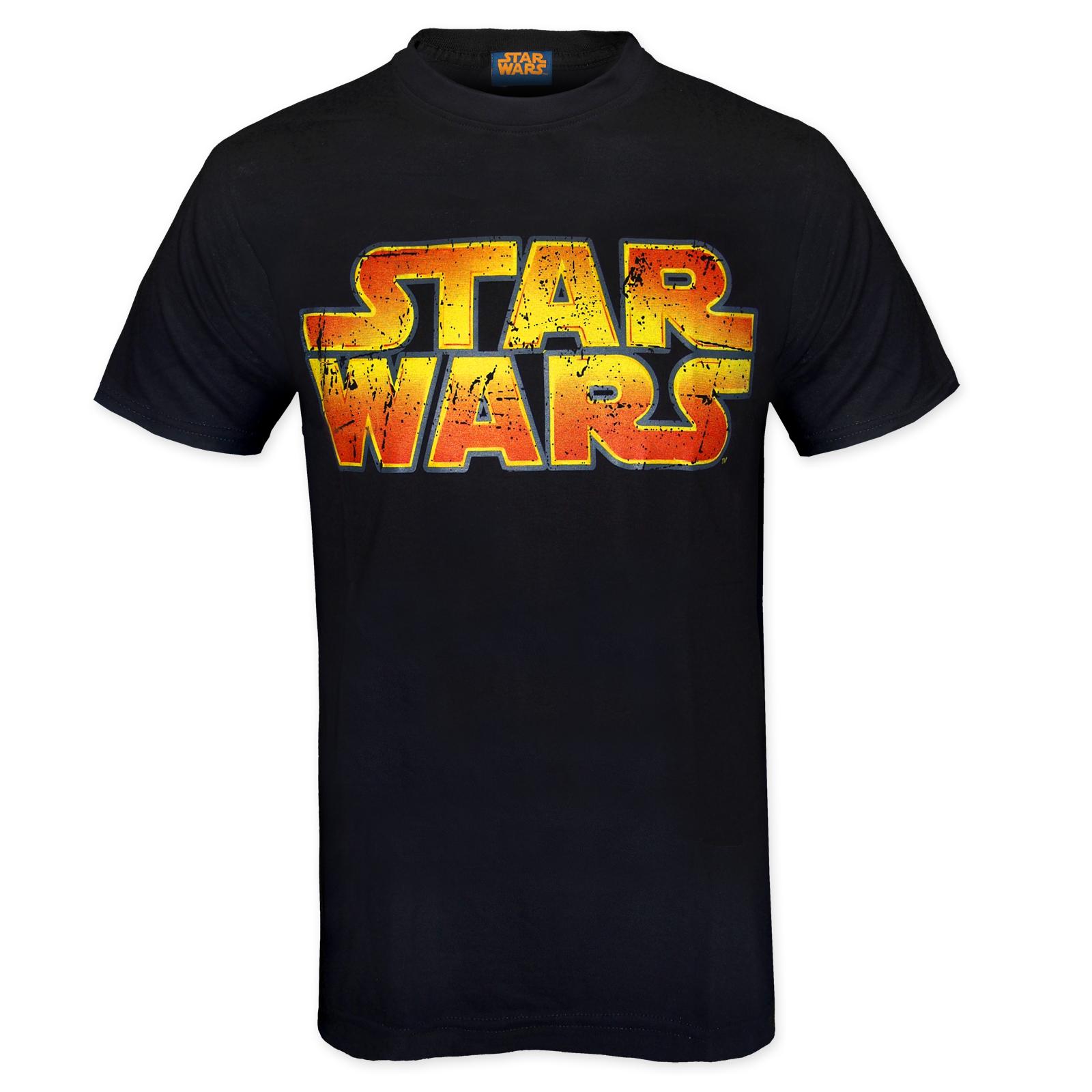 Star wars force awakens official darth vader yoda mens t for Mens shirt with stars