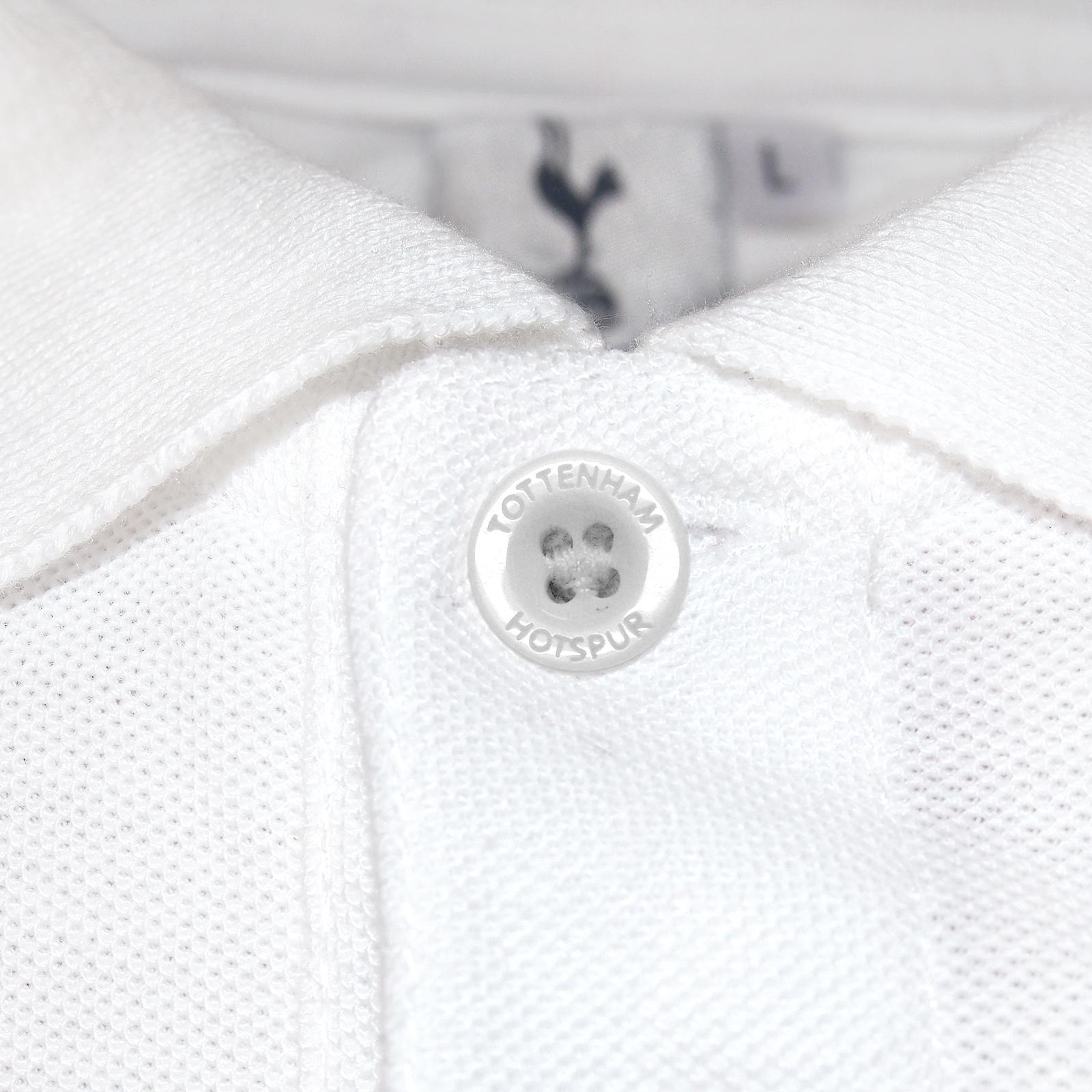 Tottenham Hotspur FC Ufficiale Calcio Regalo Maglietta Polo Uomo Crest
