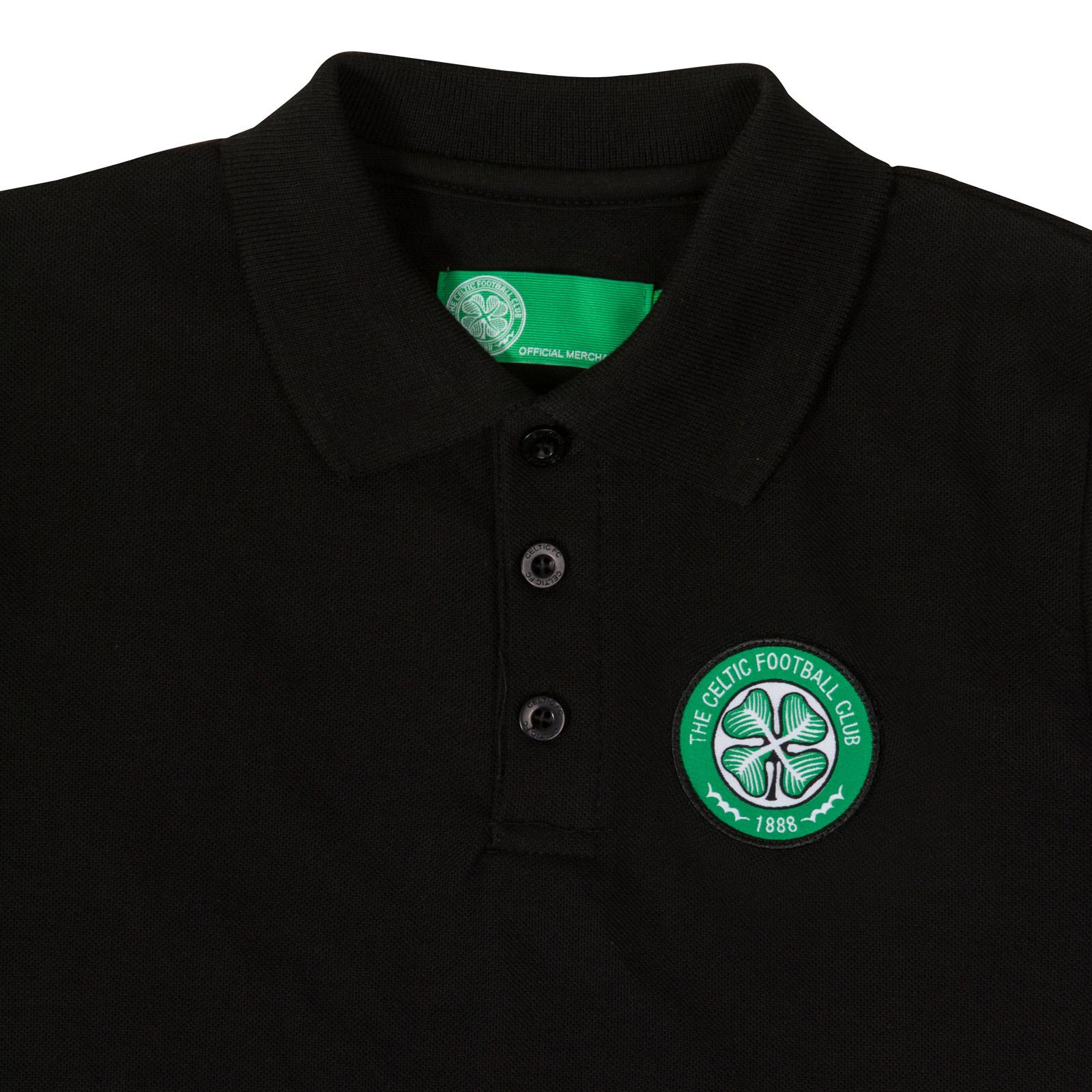 Celtic FC Ufficiale Calcio Regalo Ragazzi Polo Crest
