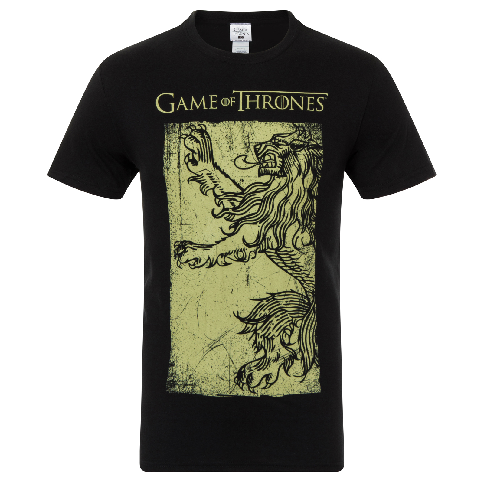 Game of thrones official gift mens t shirt lannister stark for Game t shirts uk
