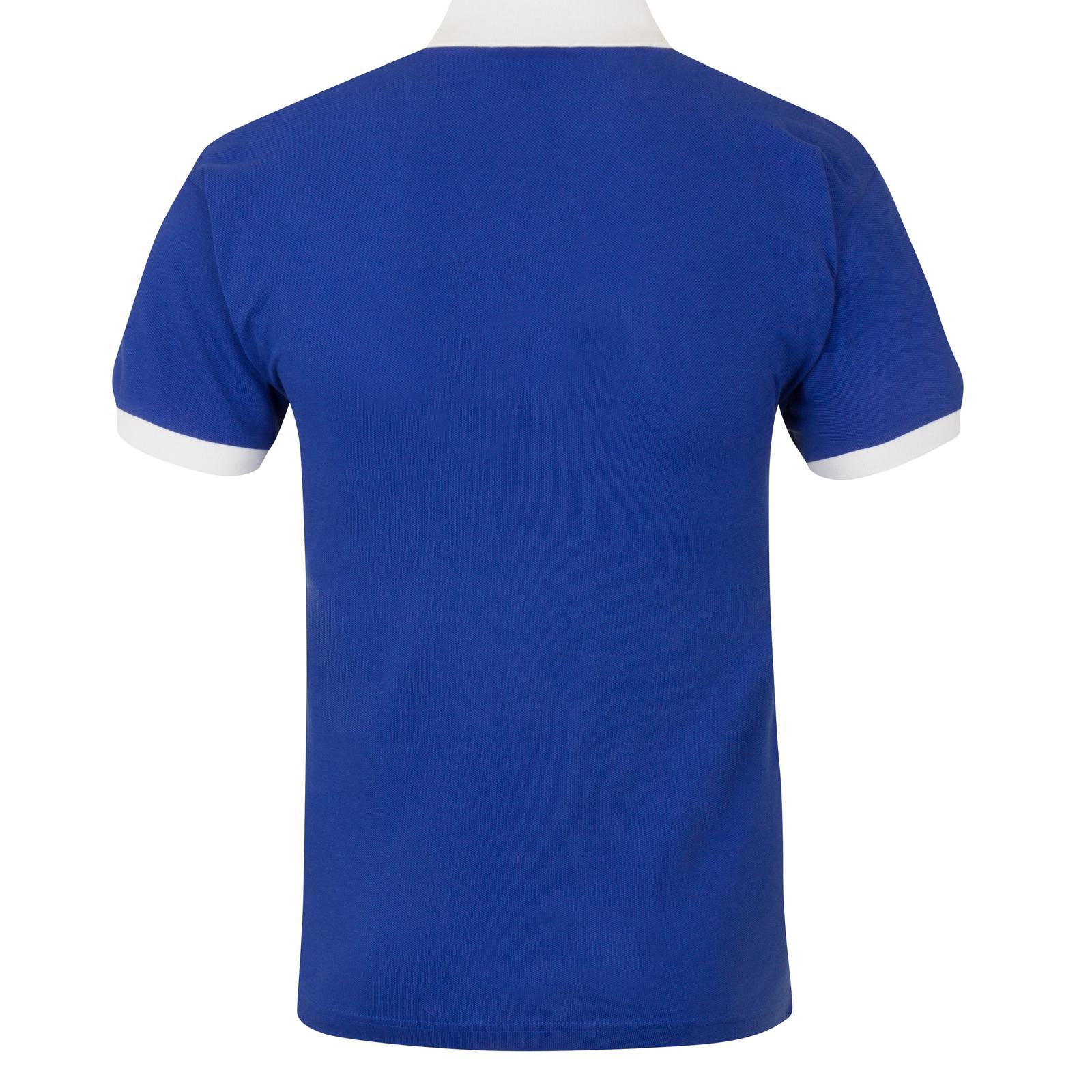 Chelsea FC Official Football Gift Mens 1972 1976 Retro Home Kit Shirt