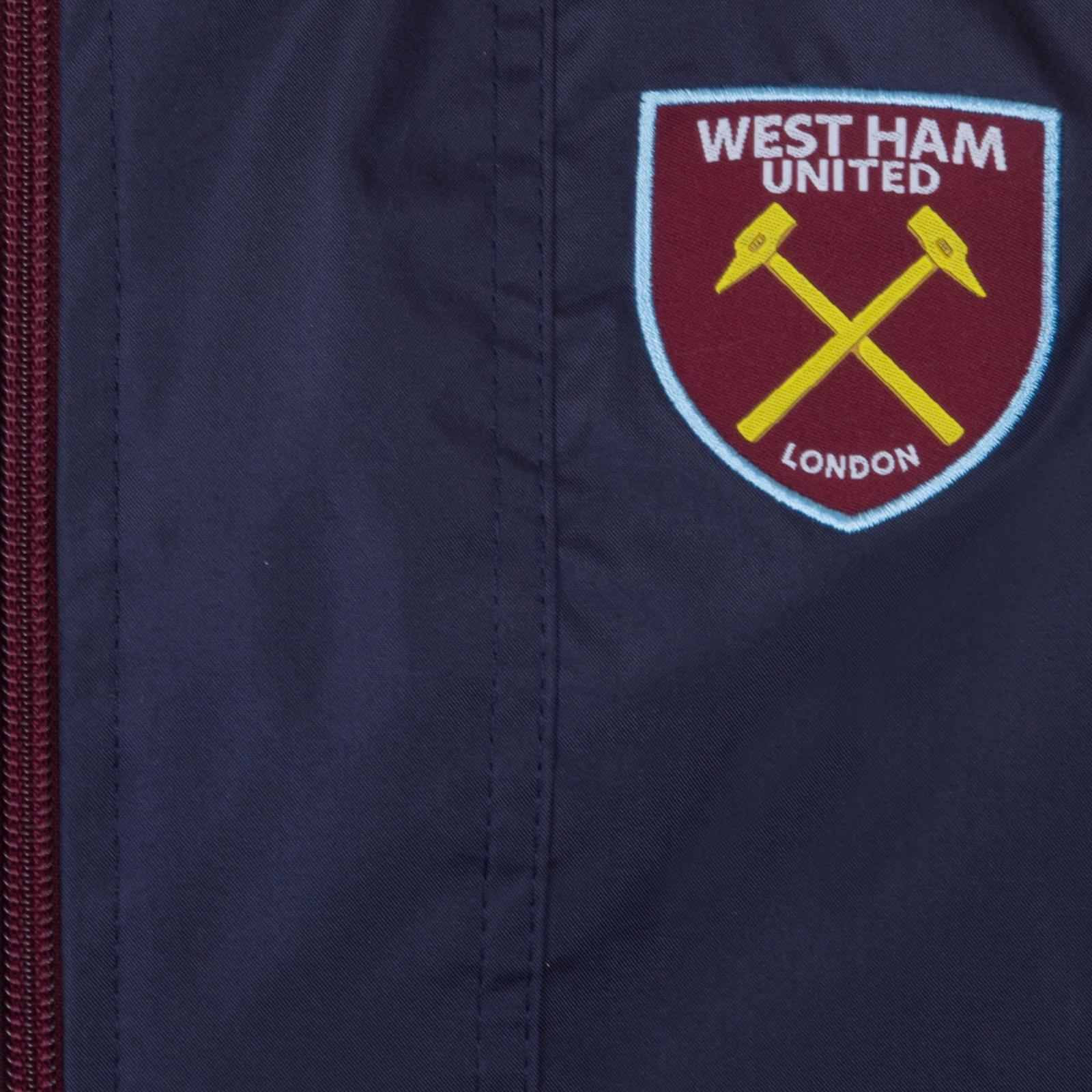 West Ham United FC Calcio Ufficiale Regalo Doccia Da Uomo Giacca Giacca a vento