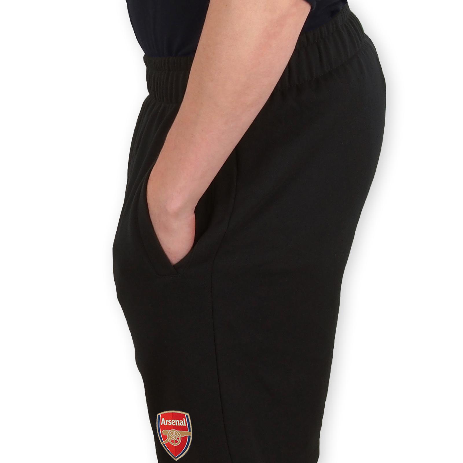 Arsenal FC Official Football Gift Boys Kids Fleece Jogger Shorts
