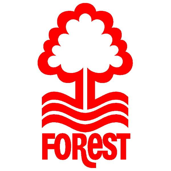 Nottingham Forest Fc Official Football Gift Mens Crest T Shirt